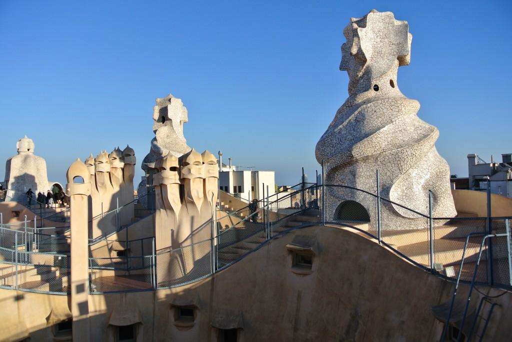 La Pedrera - roof